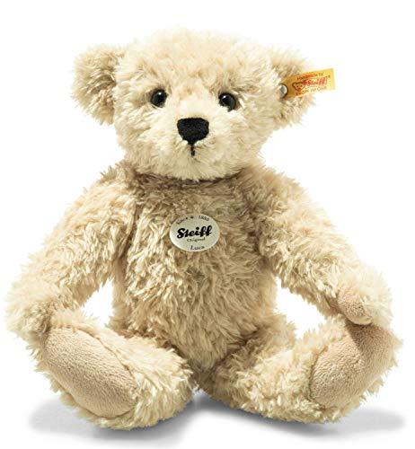 Steiff Luca Teddybär-30 cm-Spielzeug für Kinder-weich & kuschelig-waschbar-beige (023019)