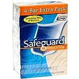 Safeguard Beige Bar Soap 4 oz, 4 bars (Pack of 3)