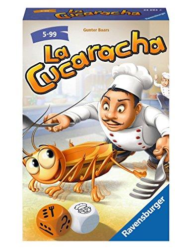Ravensburger La Cucaracha - Juego de Tablero (Multi, Caja de cartón, Closed...