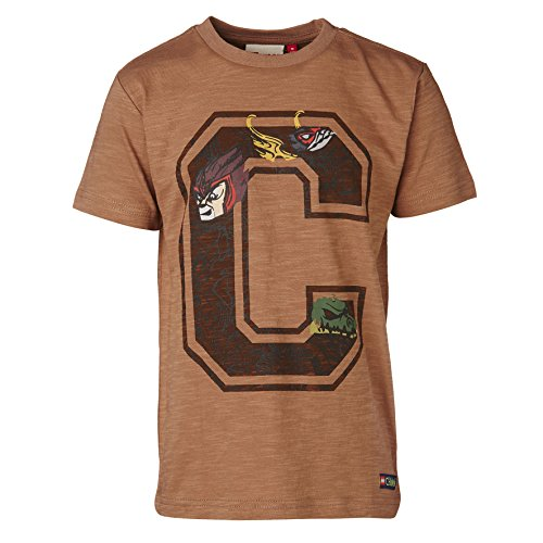 Lego Wear Jungen T-Shirt Tony 201-T-Shirt, Braun (Brown 119) 116