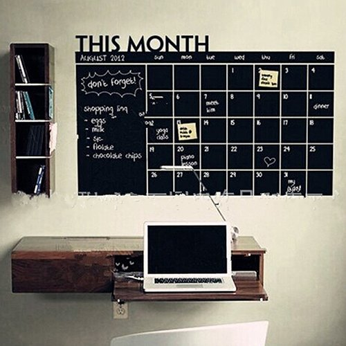 Gemini Mall calendario planner to Do list memo board lavagna lavagna adesivo da parete per casa ufficio 60cm x 92cm