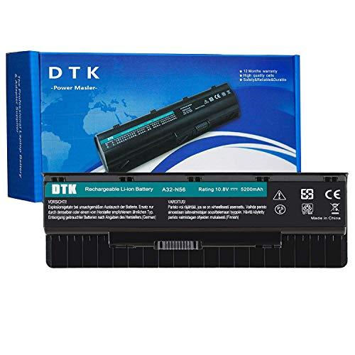 DTK A32-N56 A31-N56 Batteria per Asus N46 N46V N46VJ N46VM N56 N56DP N56VJ N76V N76VM 10.8V 5200mAh