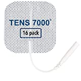 TENS 7000 Official TENS Unit Pads - Premium Quality OTC TENS Pads, 2' X 2' - Compatible with Most TENS Machines, Replacement Electrodes Value Pack, 16 Count
