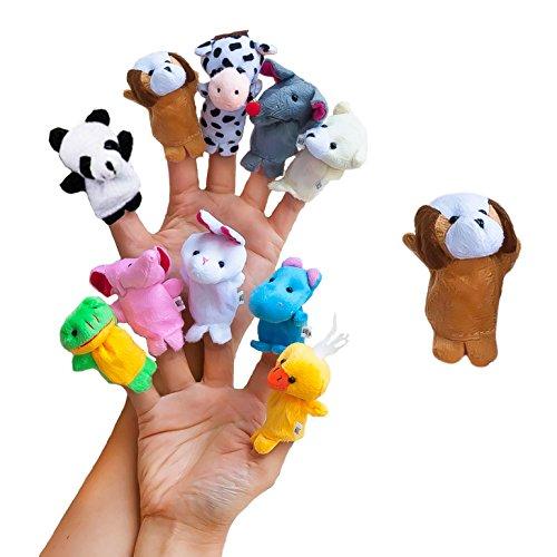 Oblique-Unique® Baby Fingerpuppen-Set zum Spielen und Lernen