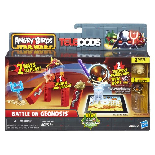 Angry Birds Star Wars – Telepods (Import Royaume-Uni) - Jeu aléatoire (Battle on Geonosis/Bounty Hunter/Duel with Count Dooku)