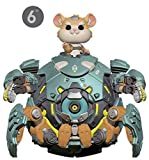 Funko- Pop Vinilo: Overwatch S5: 6' Wrecking Ball Figura Coleccionable, Multicolor (37432)