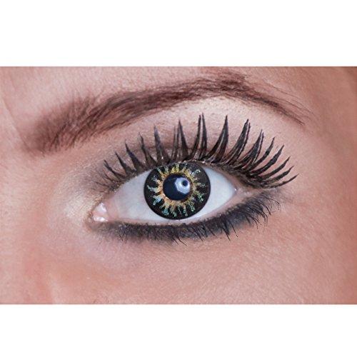 Eyecatcher Natural Color Fun Tone - farbige Kontaktlinsen - light the Fire - 2 Stück (1 Paar)