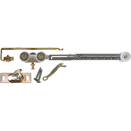 National Hardware N343-111 771 By-Passing Door Hardware in Galvanized 48