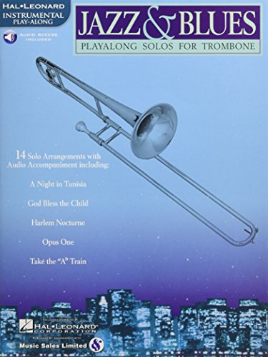 Jazz & Blues: Playalong Solos for Trombone [With CD (Audio)]