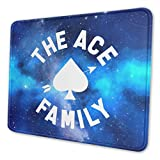 Marrh The Ace Family Mouse Pad Pattern Mousepad Non-Slip Rubber Gaming Mouse Pad Rectangle Mouse Pads for Computers Laptop10 X 12 Inch