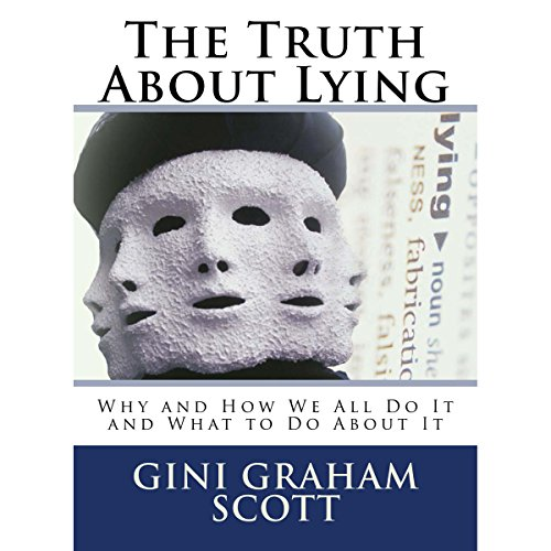 The Truth About Lying audiobook cover art