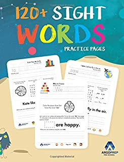Sight Words Practice Workbook for Preschoolers to 3rd Grade: Learn the top 100 high-frequency words with our engaging activity workbook that helps ... increase their reading comprehension level.