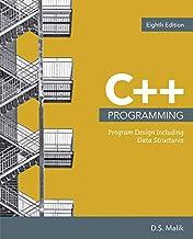 Bundle: C++ Programming: Program Design Including Data Structures, Loose-leaf Version, 8th + MindTap Computing, 2 terms (12 months) Printed Access Card