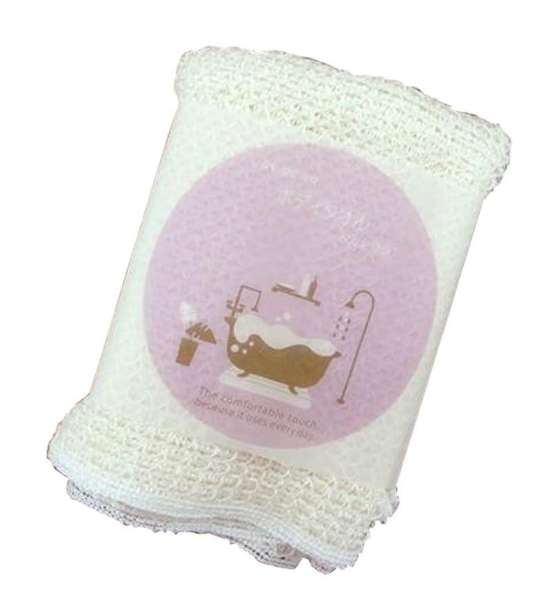 ハプニング読みやすさ用語集日本製 トウモロコシ繊維 あわあわシルクボディタオル 5枚セット