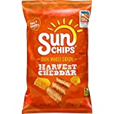 SunChips Harvest Cheddar Flavored Multigrain Snacks, 7 Ounce