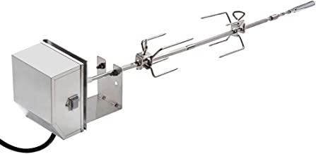 Onlyfire Stainless Steel Rotisserie Kit Fits for Weber 7659 Spirit and Spirit II 200/300 Series Gas Grill