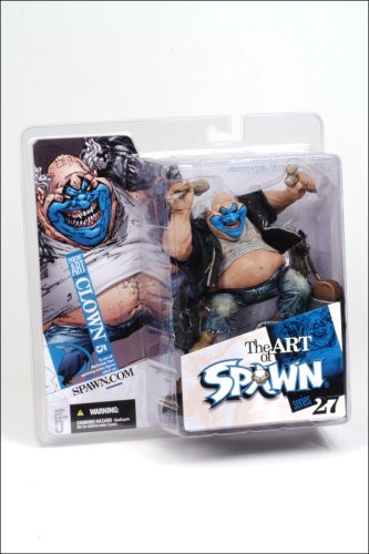 McFarlane Toys Spawn Series 27 The Art of Spawn Action Figure Clown 5 by McFarlane Toys