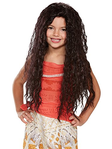 Moana Deluxe Child Wig, One Size