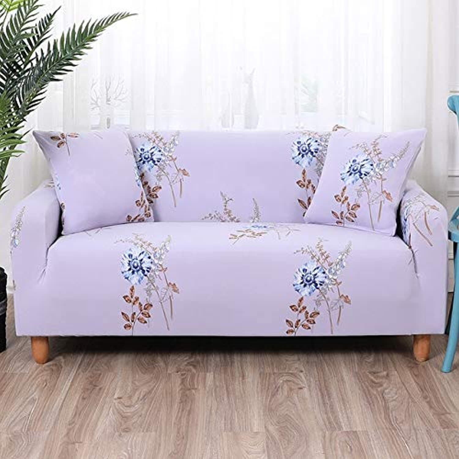 Fashion Printing Sofa Cover Spandex high Elasticity case Sofa Sofas for Living Room Removable Cleaning Essential Home   BLN-yzdx, Single seat