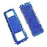 VIMAL Microfiber Flat Mop Refills (Standard Size) - Set of 2