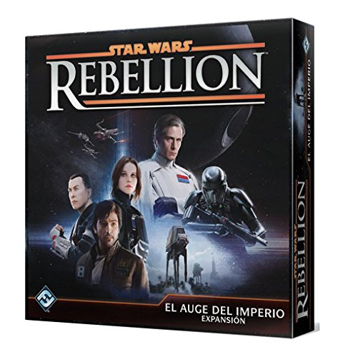 Fantasy Flight Games- Star Wars Rebellion: El Auge
