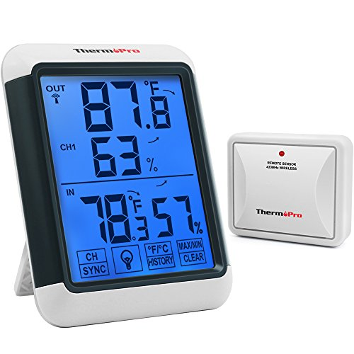 Best remote thermometer indoor outdoor for 2020