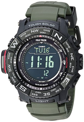 Casio Men's Pro Trek Watch with Resin Strap, Black -$160 (50% Off)