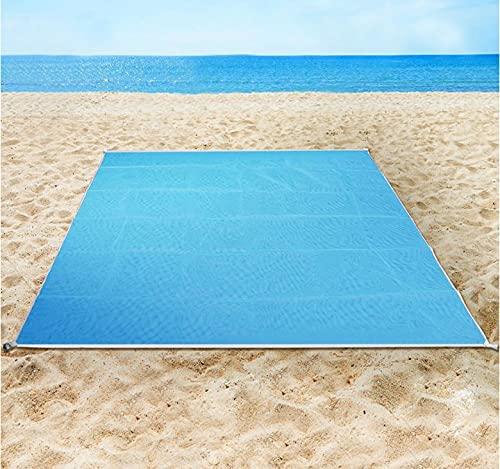 Ossian Sand Proof Beach Mat – Extra Large Lightweight Folding Quick Dry...