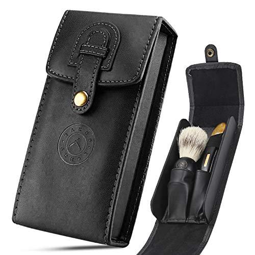 Razor Travel Shave Case - Fits Standard Disposable, Straight Edge...