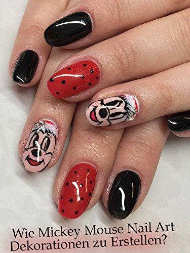 Wie Mickey Mouse Nail Art Dekorationen zu Erstellen?