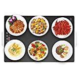 Food Warming Tray - Multifunctional Smart Food Heating Plate with Touch Screen Operation