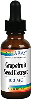 Solaray Grapefruit Seed Extract 100mg | Unflavored Liquid GSE for Healthy Immune System & Digestion Support | Vegan | 100 ...
