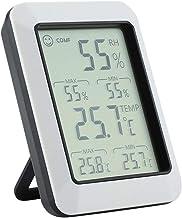 NA YAJJA Higrómetro Digital Termómetro Interior de Habitaciones Termómetro y Humedad Medidor de Humedad Relativa y Temperatura con el Monitor