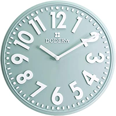 Modern Minimalist Living Room Bedroom Home Quartz Clock Large Digital Mute Wall Clock
