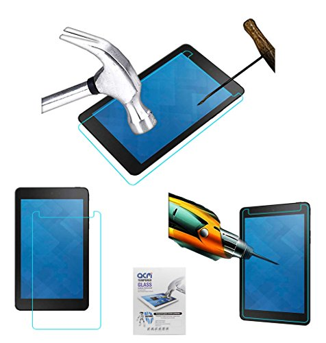 Acm Tempered Glass Screenguard Compatible with Dell Venue 8 3840 Screen Guard Scratch Protector