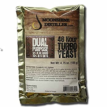 Moonshine Distiller 48-Hour Turbo Yeast