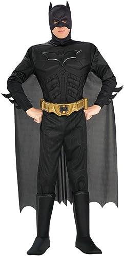 marca en liquidación de venta Rubie's 880671, Disfraz de de de Batman para hombre, negro, XL  Los mejores precios y los estilos más frescos.