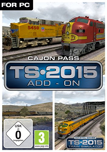 Train Simulator 2015 - Cajon Pass [PC Code - Steam]
