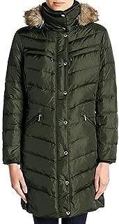 Michael Kors Plus Size Knee-Length Down Coat