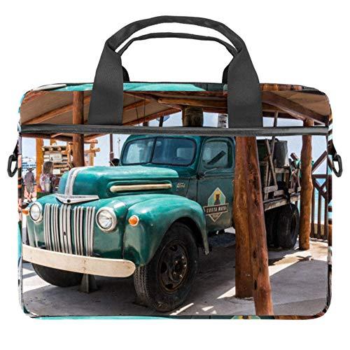 Cool Truck Laptop Bags 13.4-14.5-Inch Business Laptop Shoulder Removable Strap Satchel Case Laptop Briefcase