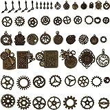 BIHRTC 200 Gram Antiqued Bronze Clock Face Charm...
