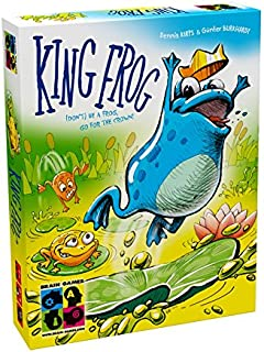 Brain Games King Frog Kids Board Game - A Fast & Fun Family Board Game for Children Age 7+