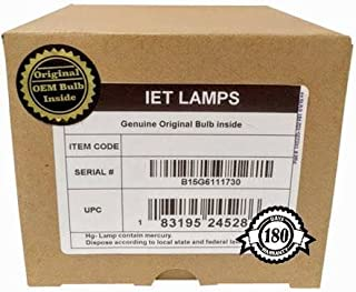 IET Lamps - for Sharp PG-B10S Projector Lamp Replacement Assembly with Genuine Original OEM Philips UHP Bulb Inside