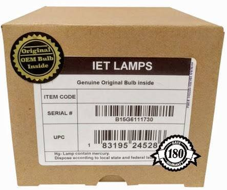 IET Lamps - for Mitsubishi WD-62526 Projector Replacement Lamp Assembly with Original Osram PVIP Bulb Inside