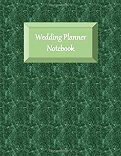 Wedding Planner Notebook: Checklists - Aide Memoir Sheets - Emerald Green Cover - Catering - Gender Neutral - Ultimate Planning Helper - Contact Sheets - Countdown Prompts