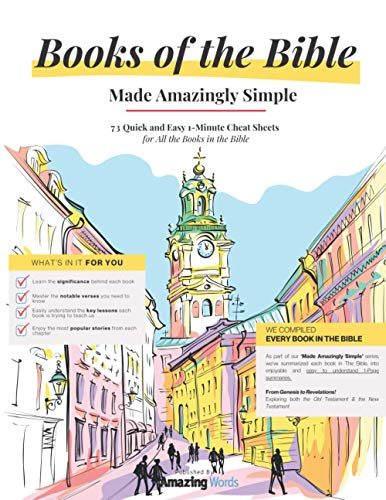 Compare Textbook Prices for Books of The Bible: Made Amazingly Simple  ISBN 9798557689359 by Words, Amazing