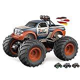 HSP Himoto Bigfoot Crawler-Buggy, Monster Truck, vehículo de motor teledirigido 4 WD, juego completo