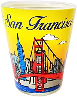 American Cities and States of Cool Shot Glass's (San Francisco)