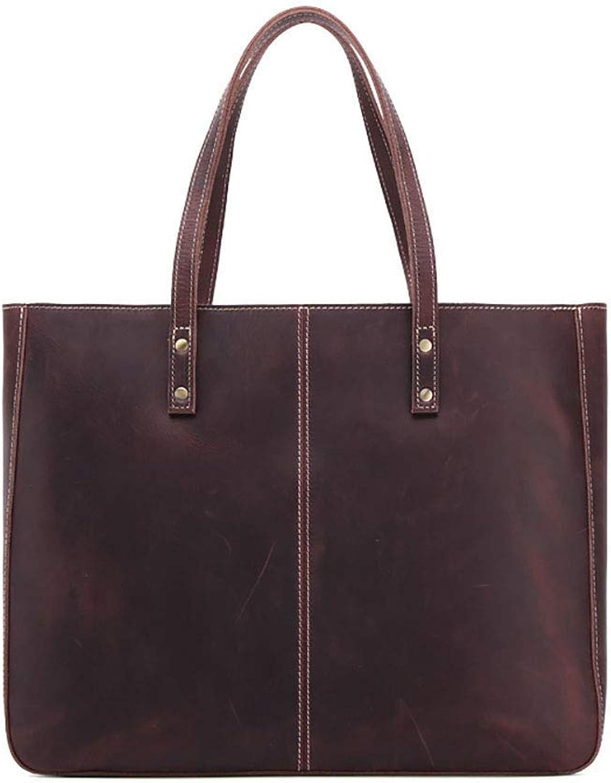 a69f8a3fac38 Leather Vintage Handbag Ladies Female 2018 Deephorseskincolor ...