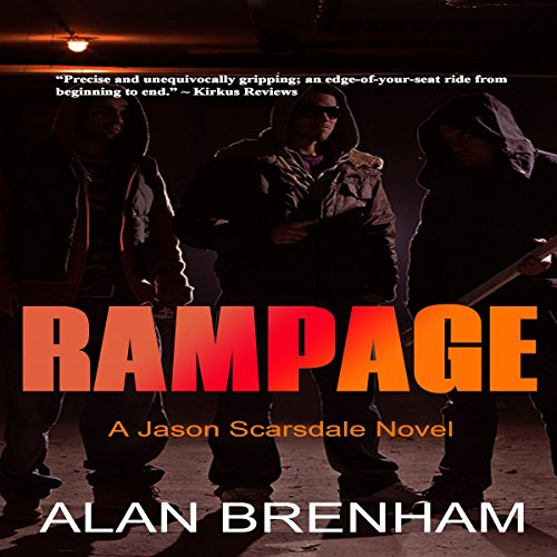 Rampage: A Jason Scarsdale Novel audiobook cover art